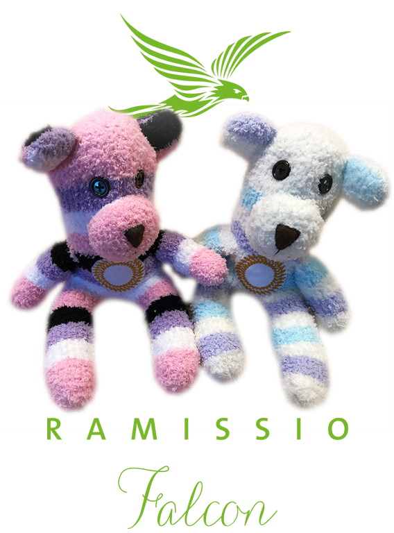 Ramissio Falcon teddy bear