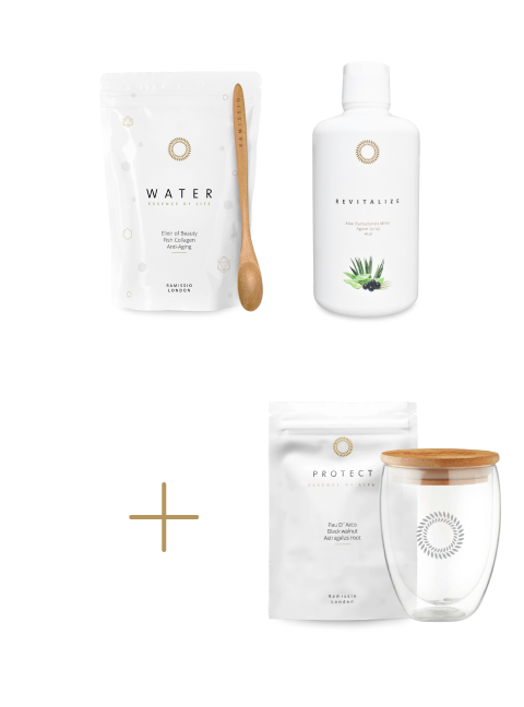 Christmas package of vitality and beauty